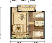 天阁,90平米 2室2厅1卫-2室2厅1卫-90.0㎡