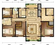 鉑府,160平米-4室2廳2衛-160.0㎡