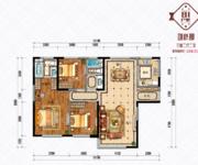 七期润园B1户型-3室2厅2卫-139.0㎡