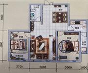B户型, 2室2厅1卫1厨, 建筑面积约90.77平米