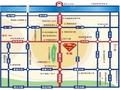 中发源城市广场交通图
