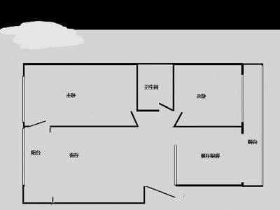 出售 虎台双学区 2室2厅1卫92平米139万住宅