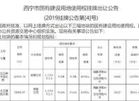寧夏中房集團西寧分公司斥資17億競得215畝優質土地!