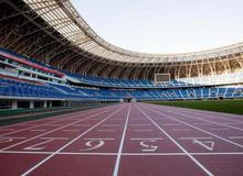青海海東市體育中心項目接近收尾!